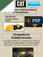 CARGADOR SUBTERRANEO SCOOPTRAM