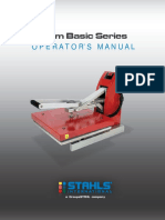 Clam Basic Series Operators Manual