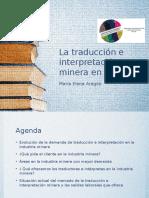 La Traducción e Interpretación Minera en El Perú