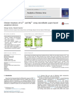 Karita, S (2016) Chelate Titrations of CA and Mg Using Microfluidic Paper-based Analytical Devices