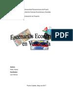 Ensayo (Escenarios Económicos en Venezuela)