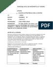 Sesiòn de Aprendizaje Nº01 de Matematica