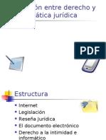 Relación entre derecho y informática jurídica