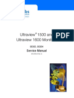 Spacelabs Ultraview 1500,1600 Monitor - Service Manual