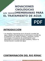 Tratamiento de Agua Con Membranas