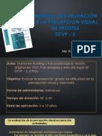 Método de Evaluación de La Percepción Visual de Fostig -1