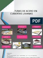 Nueva Estructuras de Acero en Cubiertas Livianas