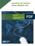 Distance Education for Teacher Training by Mary Burns EDC.pdf