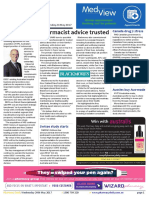 Pharmacy Daily for Wed 24 May 2017 - Pharmacist advice trusted, EBOS acquisition, Canada drug pricing, Swisse, new products and much more