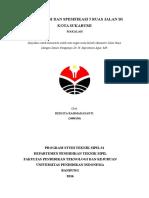 Spesifikasi dan Klasifikasi Jalan Raya.docx