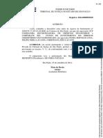 Acórdão - Agravo - Postergação de Análise de Pedidos