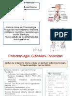 Endocrinología Clase 1 2016