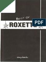 Roxette - Best of Roxette - 1994 Songbook (pdf)