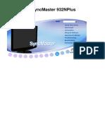 Samsung SyncMaster 932N Plus