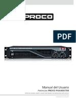 Manual Proco Pax400