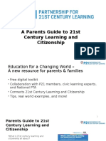 A Parents Guide to 21st Century Learning and Citizenship No Background