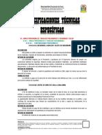Especificaciones Tecnicas Especificas El Puerto Final