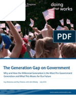 The Generation Gap on Government
