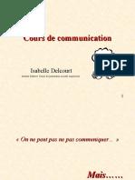 Cours de Communication. Isabelle Delcourt.id