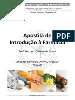 Apostila - Introdução à Farmácia - UNIPAC - 2014