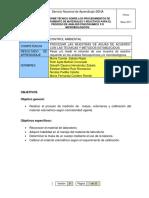 Informe Material Volumetrico.