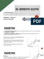 1.5 Análisis de Movimiento Relativo - Velocidad