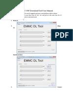 eMMC Download Tool User Manual.doc