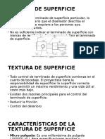 Textura de Superficie