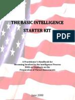Basic Intelligence Starter Kit