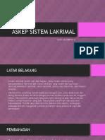 Askep Sistem Lakrimal