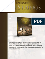 CineStrings Solo Manual