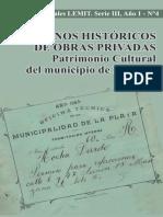 Planos Historicos de Obras Privadas La Plata