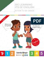 Derechos Básicos de Aprendizajes - Tr y Primaria