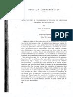 Conferencias y artículos reunidos de Luis Santaló