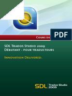 SDL Trados Studio 2009 Getting Started FR