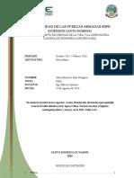 Inventario Forestal de Caoba Laurel y Fernan Sanchez Sornoza Gongora