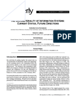2014_Sociomateriality in IS_status and Future Directios_MIS QUARTERLY