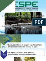 los bosques ayudan a purificar el agua_John Sornoza.pptx