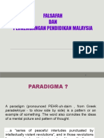 falsafah dan perkembangan pendidikan di malaysia