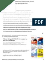 Tutorial Belajar OOP PHP_ Pemrograman Berbasis Objek PHP _ Duniailkom
