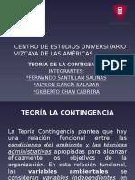 TEORÍA DE LA CONTIGENCÍA