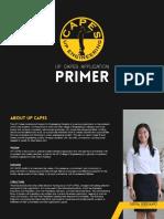 CAPES Application Primer 2015