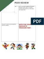 Pirate Map Peer Review
