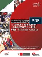 Constitucion Comite de Gestion de Riesgo de Desastres