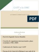 Acuerdos Comerciales y OMC