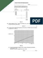 Igcse Physics Revision Quiz #6