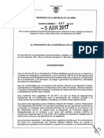 Decreto 587 Del 05 de Abril de 2017