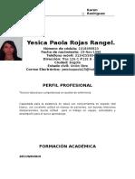 Yesica Paola Rojas Rangel