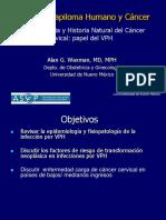 01 - Historia Natural y Epidemiologia Del Cáncer Cervical.