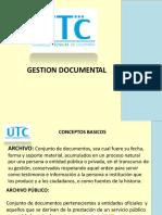 Gestión Documental utc